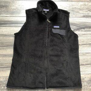 Patagonia logo black vest